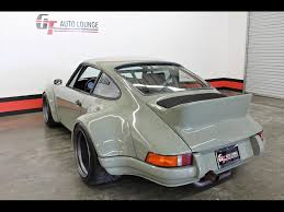 rwb porsche grey 1990 porsche 911 rwb for sale in rancho cordova ca stock 102765