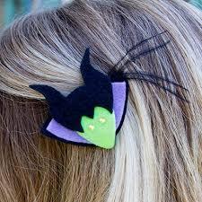 hair barrette maleficent hair barrette disney family