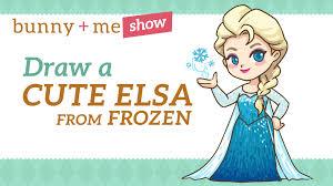 draw elsa easy drawing tutorial frozen