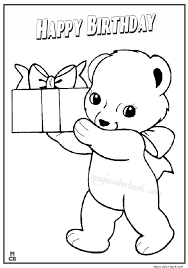 happy birthday coloring pages archives magic color book