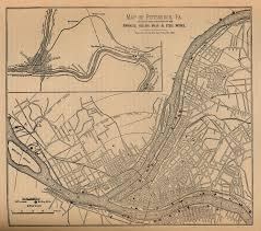 Pennsylvania City Map by Pagenealogy Net Pennsylvania Historical Maps