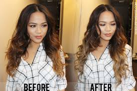 clip in hair extensions before and after irresistible me clip in hair extensions before after review
