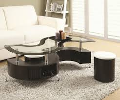 Glass And Wood Coffee Tables by Brown Glass Coffee Table Steal A Sofa Furniture Outlet Los