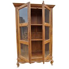 Bookcase With Door by Study Solid Wood Glass Door Cabinet Bookcase Armoire