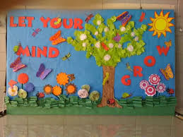 Classroom Soft Board Decoration Ideas 103 Best Soft Board Images On Pinterest Spring And