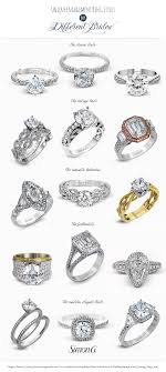 types of wedding ring simon g engagement ring styles for every bridal jewelry