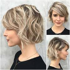 in 2017 all women try different short hair cuts and styles