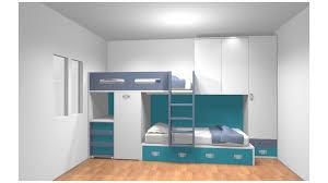chambre garçon lit superposé chambre enfant avec lit superposé personnalisé pour m mme sermesse