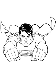 Kids Superman Coloring Pages For Print Super Heroes Coloring Superman Coloring Pages Print