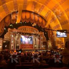 radio city section 6 seat view orchestra
