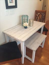 Kitchen Table For Small Spaces Best 25 Small Farmhouse Table Ideas On Pinterest Breakfast Nook
