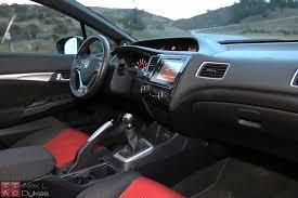 Honda Civic Si Interior 2015 Honda Civic Si Sedan Interior 004 The Truth About Cars