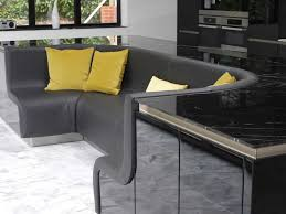 Kitchen Sofa Furniture Kitchen Island With Built In Sofa Upgrades Stylish Home Freshome