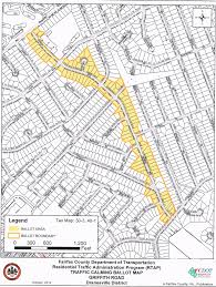 Fairfax County Map Pimmit Hills Citizens Association Phca Traffic Calming 2014