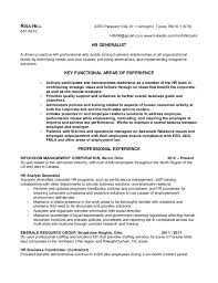 Hr Coordinator Sample Resume by Best Solutions Of Hr Generalist Sample Resume Also Resume Sample