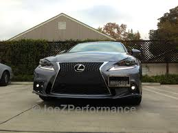 lexus is 250 sport 2015 official usdm 2014 is350 f sport w jdm led fog lamps installed