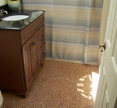 brown vintage bathroom floor tile designs flooring