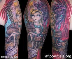 flick u0027s girly sleeve tattoo artists org girly arm tattoos