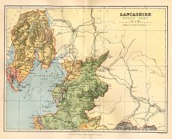 Map Of England And Wales Lancashire