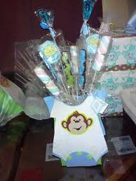 Baby Monkey Centerpieces by Homemade Monkey Centerpiece For Baby Shower Party Decorations On