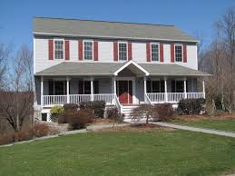 front porches on colonial homes garrison colonial porch front porches pinterest home plans