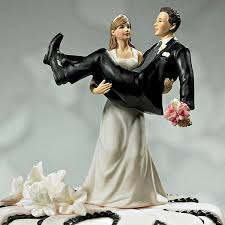 wedding toppers and groom to and to hold carrying groom cake topper