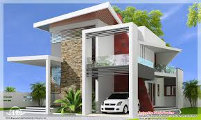 exterior house with stone modern wowzey cheerful color idea orange