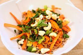 thai noodle salad recipe the edgy veg