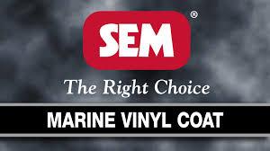 sem products inc marine vinyl coat youtube