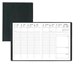 agenda sur bureau lecas agenda economique 21 x 27 cm 1 semaine sur 2 pages