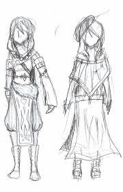 fantasy clothing sketch by legendarygirlk on deviantart