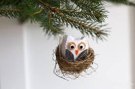 owl ornaments diy felt owl ornaments the heathered nest
