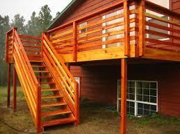 how to make horizontal deck railing u2014 all furniture
