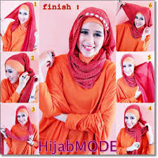 tutorial jilbab pashmina simple modern simple pleated criss cross step by step tutorial girls hijab