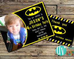 batman invitation etsy