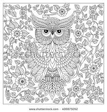 pattern coloring book coloring book pages stock vector 326447672