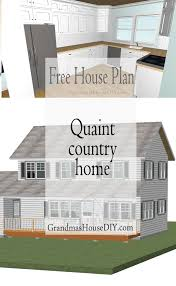 free house plan quaint country cottage house plans country