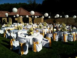 outdoors wedding reception simple outdoor wedding reception ideas