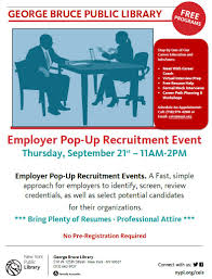 free resume help nyc ceis george bruce library employer pop up recruitment event the workforce1 career centers are located throughout the five boroughs of new york city and provide job seekers with a full array of free employment services