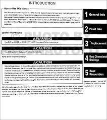 2007 honda accord dimensions 2003 2007 honda accord original repair shop manual