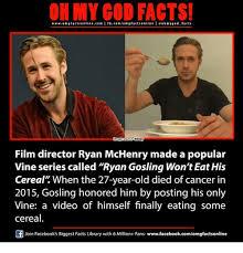 Ryan Gosling Finals Meme - 25 best memes about wont eat his cereal wont eat his cereal memes