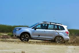 subaru forester off road lifted test drive review subaru forester 2 0i p autoworld com my