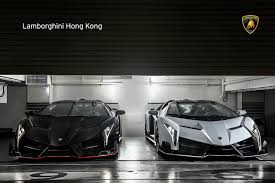 lamborghini aventador headlights in the dark two veneno roadster in hong kong veneno roadster hong kong 3 hr
