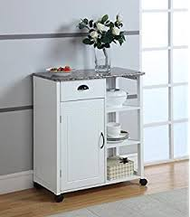 Storage Cabinet For Kitchen Brand White With Marble Finish Top Kitchen