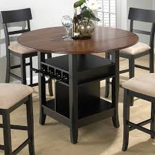 Pedestal Bar Table Pub Tables And Stools Homesfeed With Dark Wood Bar Table 3 Pieces