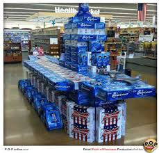 bud light product display battle stations p o p