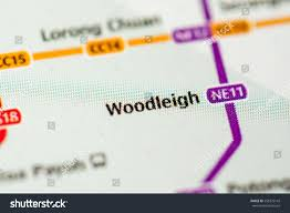 Metro Property Maps by Woodleigh Station Singapore Metro Map Stock Photo 558375142