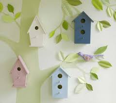 inspiring wall art for kids with cute design ideas home interior pottery barn kids wall art wooden birdhouses