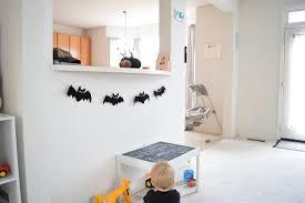 diy halloween spooky bat garland the calligraphy bar