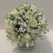 Bouquet Of Lilies Lily Of The Valley Bouquet Easy Wedding Flower Tutorials